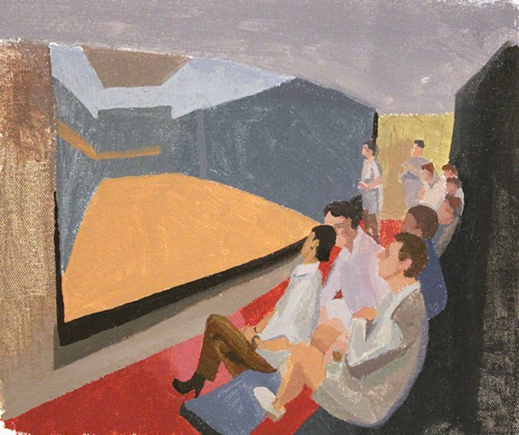 Study for Real Tennis Spectators
