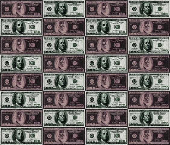 Uncut Sheet $100 Bill