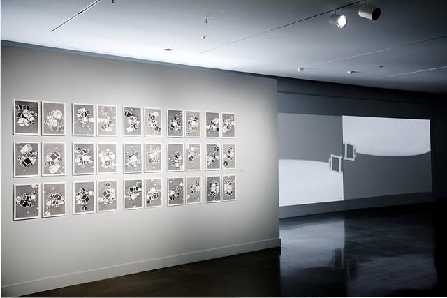 17 Cubes, installation