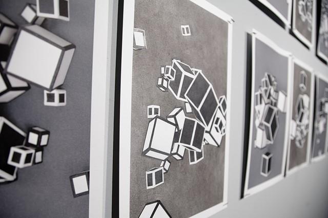 17 Cubes, detail
