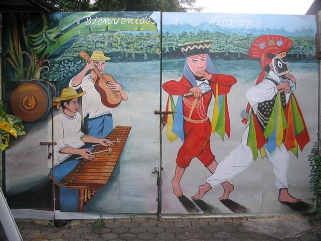 Folkloric Mural, Hotel Raizon