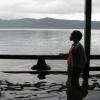 Nikki and Sache in Lake Apoyo