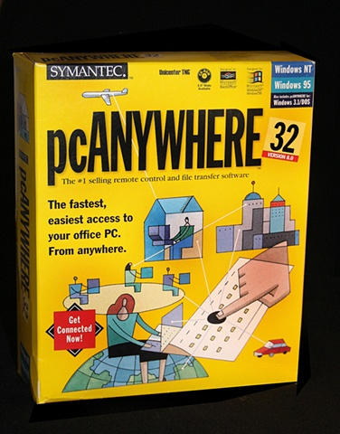 PC ANYWHERE software