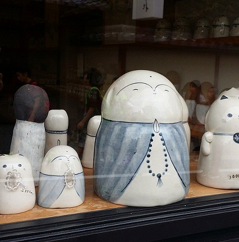 Gorgeous ceramic atelier in Kyoto. Bought so much stuff!