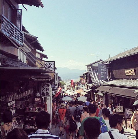 Enjoying the clay capital of Japan, Kyoto