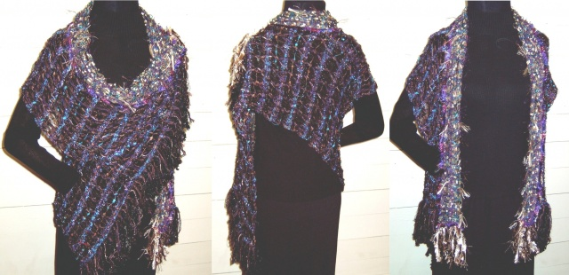 open sleeved stole