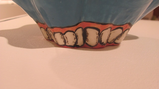 Teeth Bowl (detail)