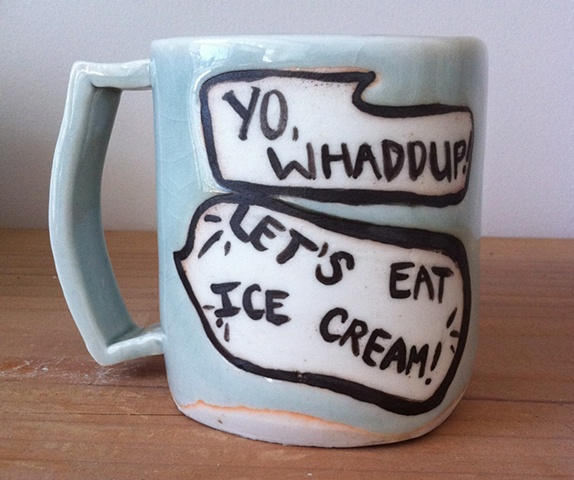 Ice Cream Mug (detail)