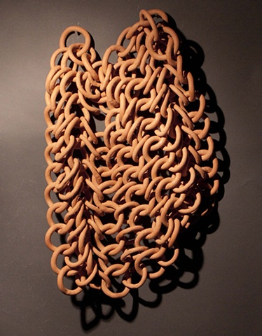 Ceramic chain mail