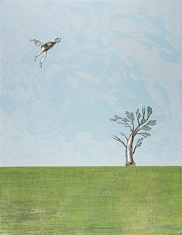 Flying Figure II