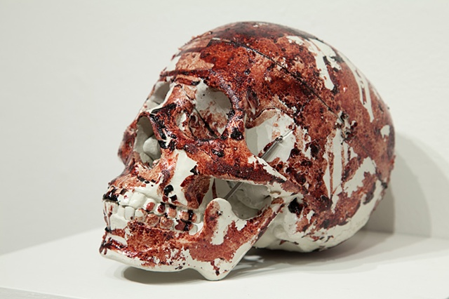 anatomical imagery, sculpture
