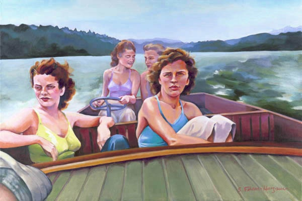 The Boating Party - sold