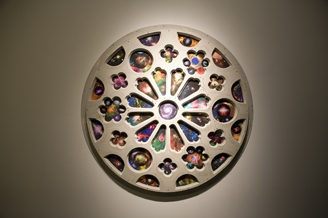 PIlgrimage Through the Wormhole (rose window)
