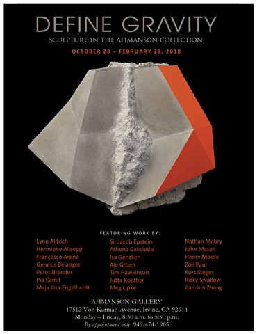 Group exhibition at Ahmanson Gallery, Irvine, CA