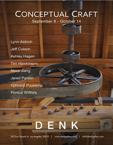 Conceptual Craft at DENK gallery, Los Angeles