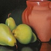 Pears with Clay Pot