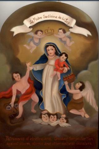 La Madre Santisima de la Luz