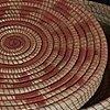 pine needle basket with lid