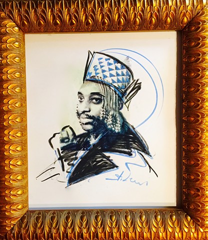 Portrait of His Majesty King Kigeli V of Rwanda.