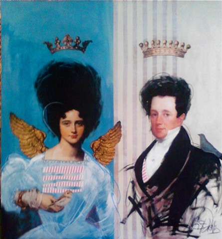 The Royal Couple $8000.  SOLD