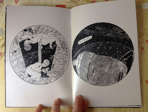 Other Worlds is a zine of queer visions of the future. Images by Maybe J. Sadeghi.