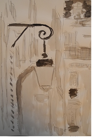 Paris Lampost 8
