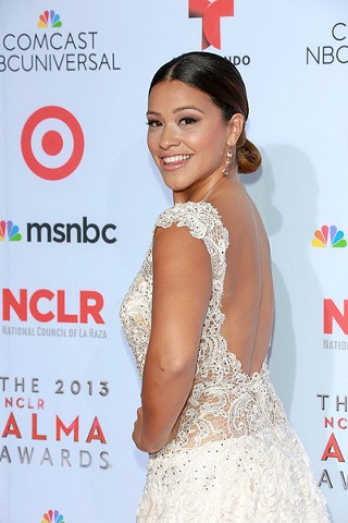 Gina Rodriguez Alma Awards 2013