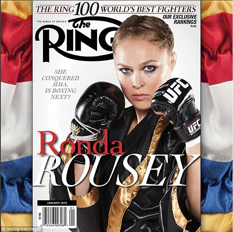 The Ring Magazine Ronda Rousey