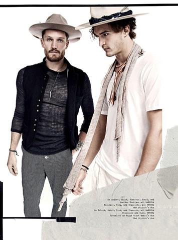 Chloe Magazine S/S17 Venice Cowboys