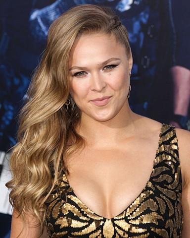Ronda Rousey The Expendables 3 Premiere