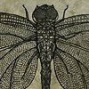 Libellule - Tribal Dragonfly