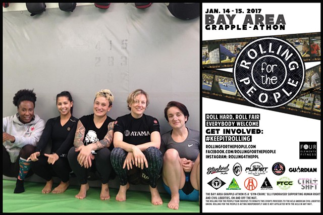 Rolling for the People: Bay Area GRAPPLE-ATHON