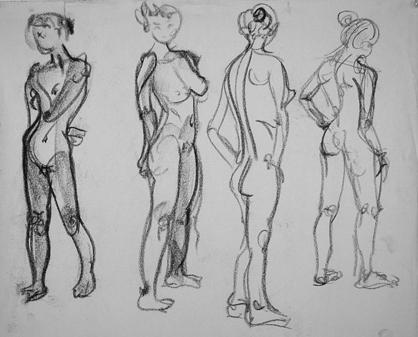 DRAWING II: Gesture Drawing