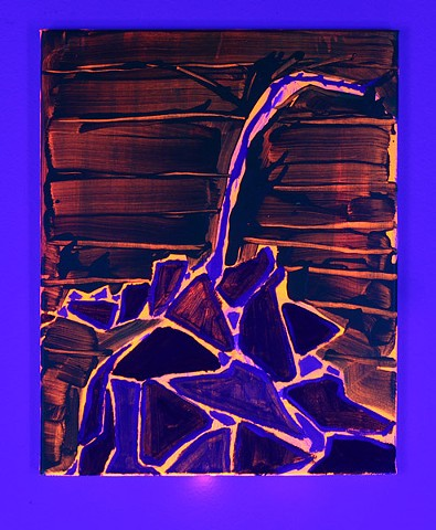 Tectonic (black light view)