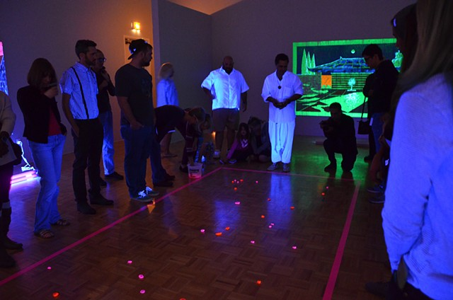 """Light Work"" Opening Reception performance"