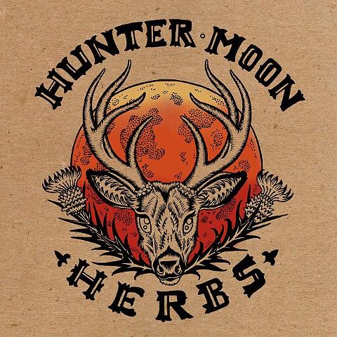 Hunter Moon Herbs, Logo, Leta Gray, Lindsay Duggan, herbalist, herbalist logo, tinctures