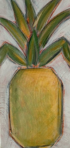 pineapple painting by tracy yarbrough