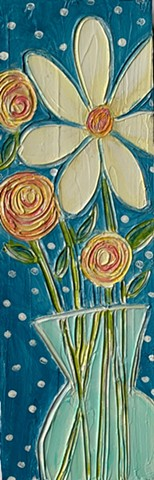 Floral painting by Tracy yarbrough
