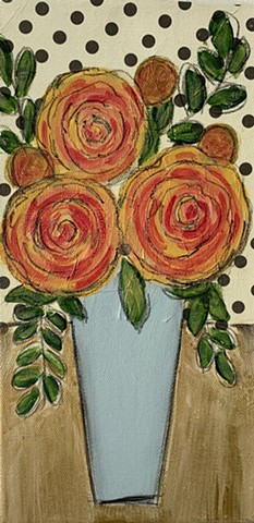 Rose painting by Tracy yarbrough