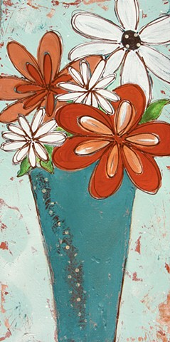 Flower painting by Tracy yarbrough