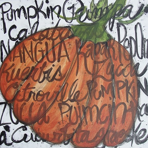 Pumpkin painting by Tracy yarbrough