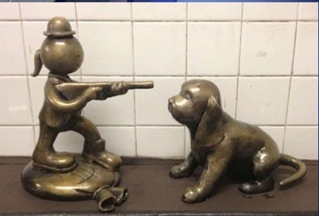 Shot Dog Graffiti 14th St Subway