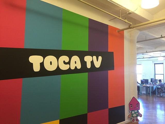 interior refresh for TOCABOCA  TOCA TV  2017