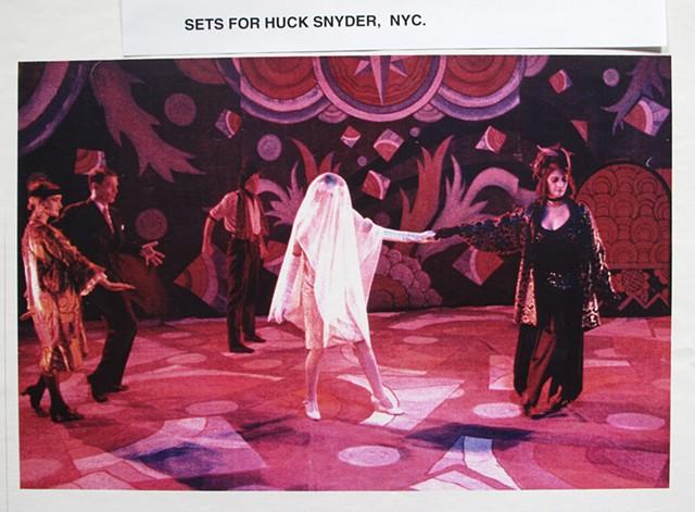 Maybe Its Cold Outside. John Kelly Dance. Huck Snyder Set Designer