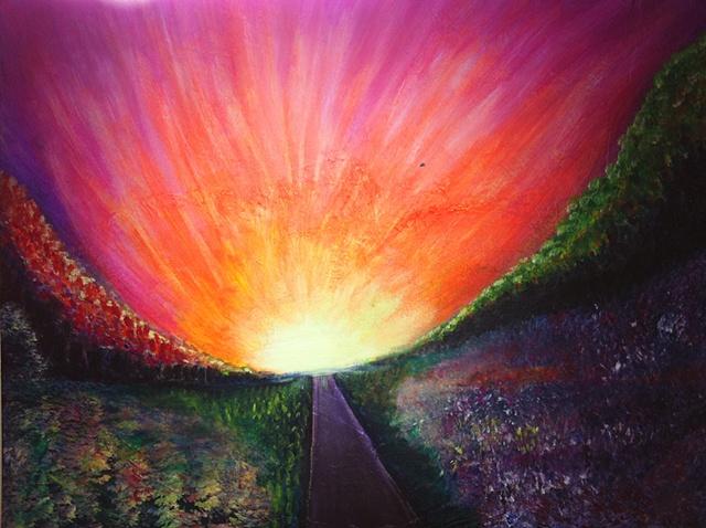 """""""Autumn Sunset on the Horizon"""""""