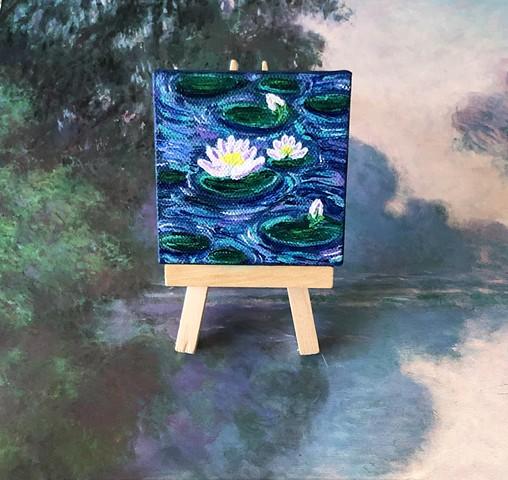 Inspired by Monet's waterlillies