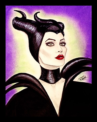 """Maleficant"" in color"