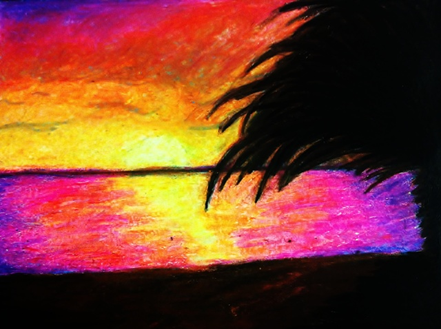 """Sunset at Sea"""