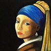 """My Impression of  """"The Girl with the Pearl Earring"""""""