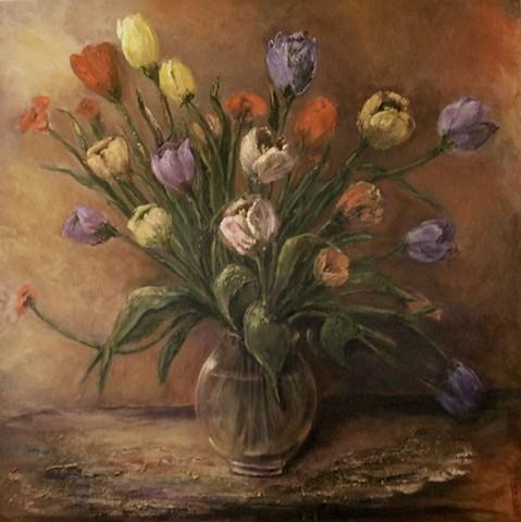 """Tulips' make me happy"""